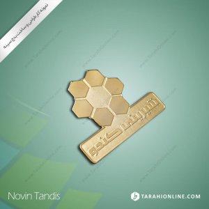 طراحی نشان سینه شیرینی کندو