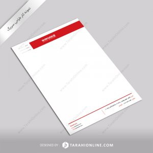 طراحی سربرگ آکاف وب