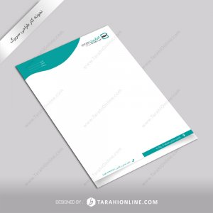 طراحی سربرگ شرکت آذرآیین