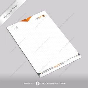 طراحی سربرگ شرکت گاماتک