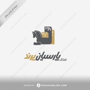 طراحی لوگو املاک پارسیان پرند
