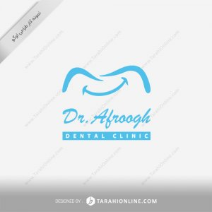 طراحی لوگو دکتر مجتبی افروغ