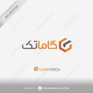 طراحی لوگو شرکت پرتودهی گاماتک