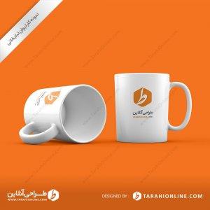 طراحی لیوان تبلیغاتی طراحی آنلاین