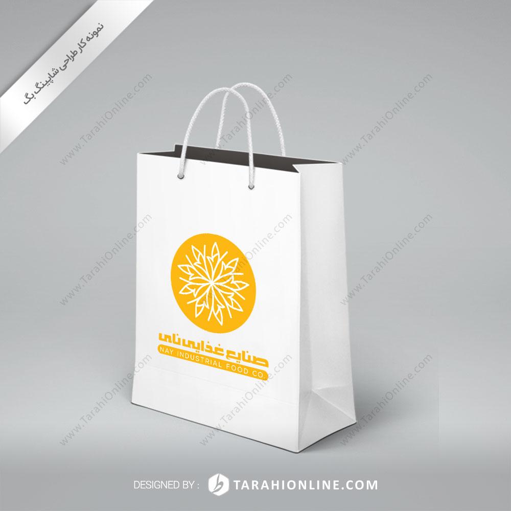 طراحی ساک دستی صنایع غذایی نای
