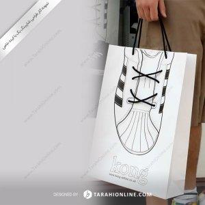 طراحی ساک دستی خاص برای فروشگاه کفش