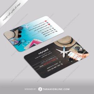 طراحی کارت ویزیت آنتالیا تیکت