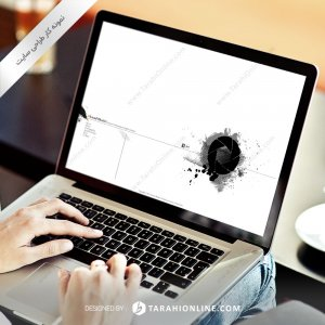 طراحی سایت شخصی احمد خطیری – نسخه اول