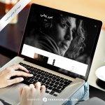 طراحی سایت شخصی امیر زمانی – نسخه دوم