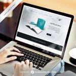طراحی سایت شخصی ، ساده