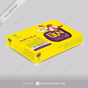 طراحی جعبه بیتامرغ - مرغ منجمد
