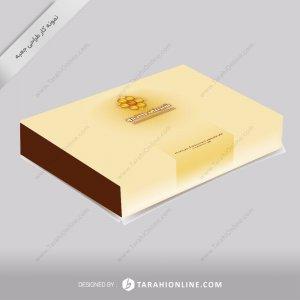 طراحی جعبه شیرینی کندو