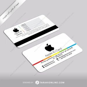 طراحی کارت ویزیت اپل آی دی