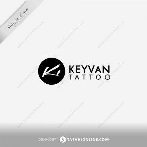 طراحی لوگو کیوان تتو