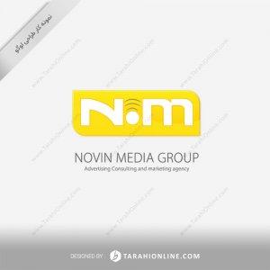 طراحی لوگو شرکت نوین مدیا گروپ