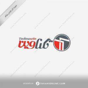 طراحی لوگو شرکت تکناوین