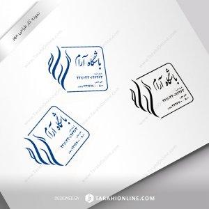 طراحی مهر باشگاه آرام