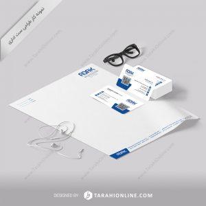 طراحی ست اداری هلدینگ صنعت و تجارت آداک