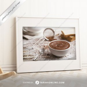 عکاسی مواد غذایی شکلات مایع