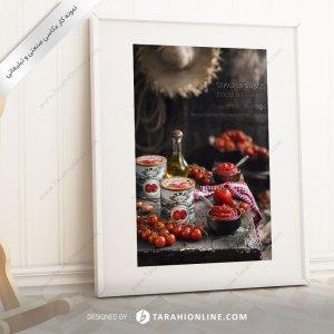 عکاسی مواد غذایی رب گوجه فرنگی