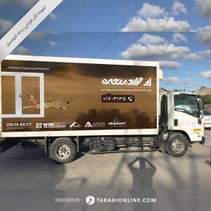 طراحی بدنه کامیونت آراد پنجره
