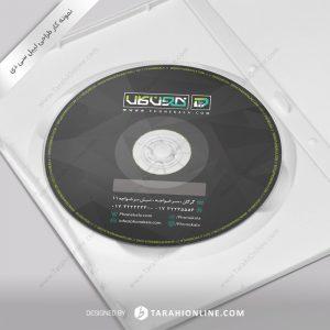 طراحی برچسب سی دی فون کالا