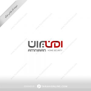 طراحی لوگو شرکت امنیتی امنیران