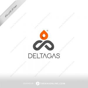 طراحی لوگو شرکت بازرگانی پتروشیمی دلتاگاز