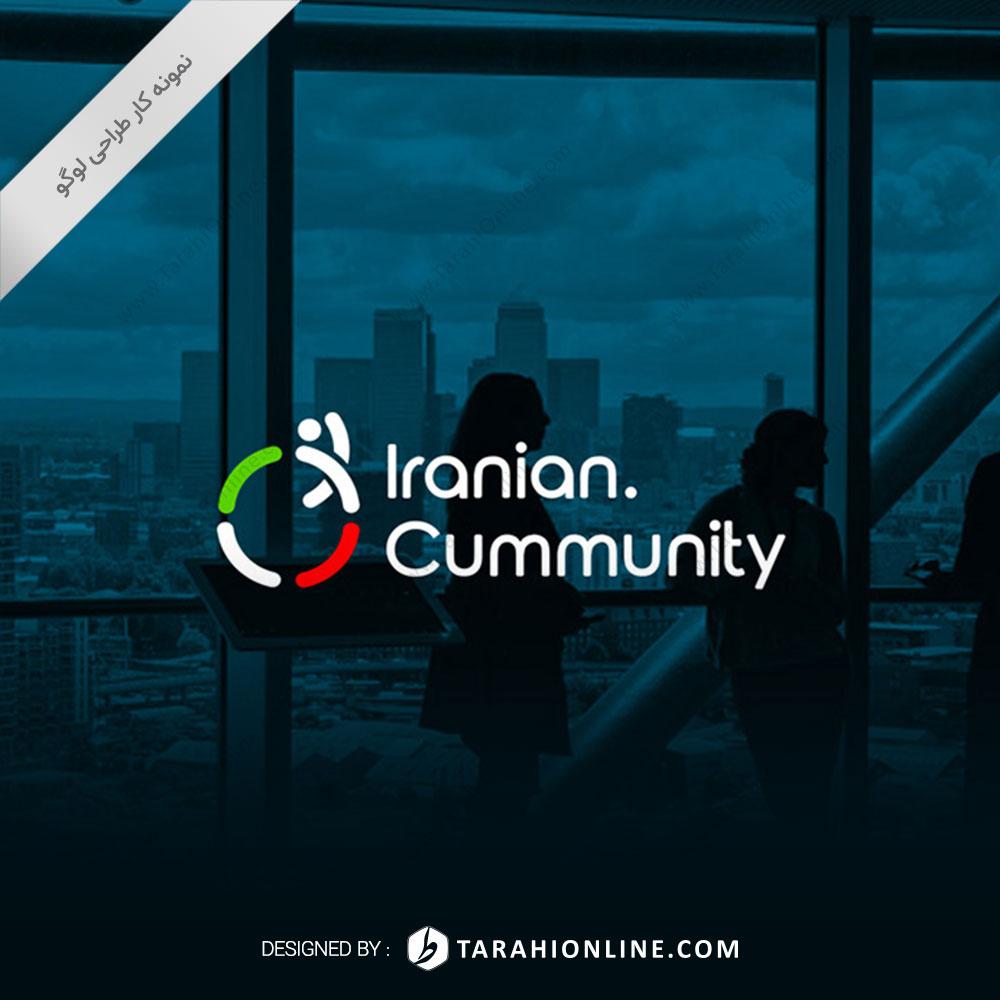 طراحی لوگو وبسایت اجتماع ایرانیان