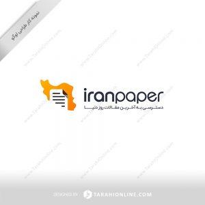 طراحی لوگو وبسایت مقالات روز ایران پیپر