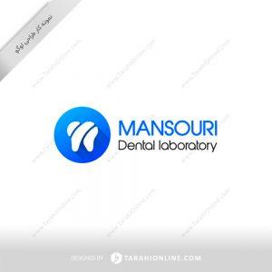 طراحی لوگو دندانسازی منصوری