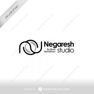 طراحی لوگو استودیو نگرش