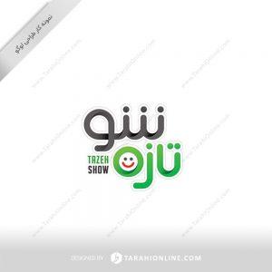 طراحی لوگو برنامه ویدیویی تازه شو