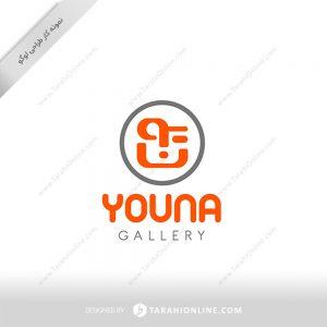 طراحی لوگو گالری چرم یونا