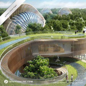 طراحی بام سبز و روف گاردن