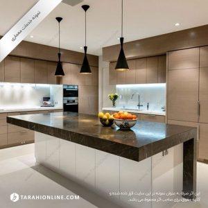 طراحی دکوراسیون آشپرخانه
