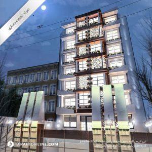طراحی معماری مجتمع مسکونی