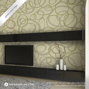 طراحی دیوارپوش و کاغذ دیواری