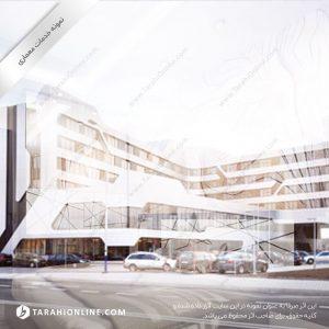 طراحی معماری ایستگاه راه آهن