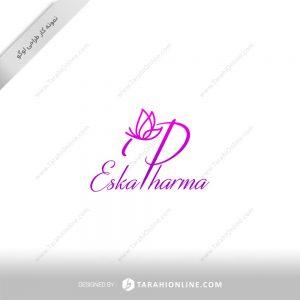 طراحی لوگو محصولات آرایشی اسکا فارما