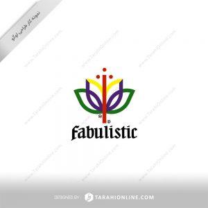 طراحی لوگو زعفران فبولیستیک